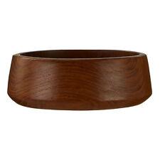 Serving Bowl Teak Wood 15.2 Dia X 5Cm H