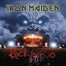 IRON MAIDEN ROCK IN RIO TRIPLO VINILE LP 180 GRAMMI NUOVO