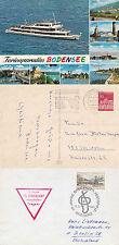 AUSTRIA RIVER CRUISER MS VORARLBERG A SHIPS CACHED COVER & A COLOUR POSTCARD