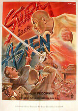 Pudovkin's STORM OVER ASIA rare 2sh from 1947