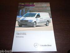 Betriebsanleitung Mercedes-Benz Vito Typ W 639 E-Cell Stand 01/2011