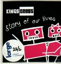 (62W) Kings Cross, Story Of Our Lives - DJ CD