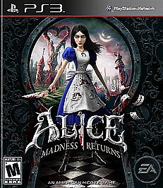 Alice: Madness Returns Ps3 GAME NEW