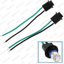 2 Pieces T10 158 168 194 2823 2825 W5W Wire Wiring Harness Sockets Plug N Play