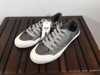 Mossimo Supply Co Women's June Glitter Sneakers Silver NWT