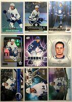 Auston Matthews 9 Card Lot O-Pee-Chee Upper Deck Portraits Toronto Maple Leafs