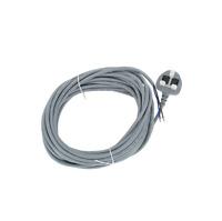 10M Vacuum Cleaner Cable Flex Hoover Flexible Power Lead & Plug Fits DYSON DC07