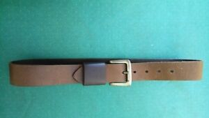 Calvin Klein Genuine Leather Belt  90 cm Long sz 28- 32 inch waist