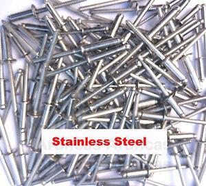 Stainless Steel Pop Rivets / Blind Rivets 3mm,4mm,5mm