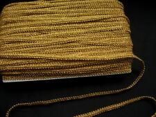 "GB01B 3/8"" Metallic Gold Trim Gimp Braid Lace Edge Sewing/Upholstery 10yards"