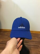 Adidas Climalite A-Flex Baseball Cap Hat Bright Blue Fitted Size S/M