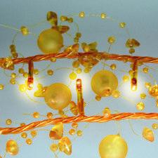 flèche rouge guirlande lumineuse 40 parties perlendeko JAUNE lampes Noël