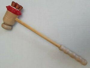 Wooden Hammer Leg Back Neck Massager Foot Bady Stress Pain Relief
