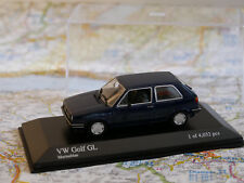 MINICHAMPS VW GOLF GL 1985 BLUE  ART.400054100  NEW DIE-CAST