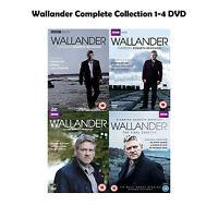 Wallander Complete Collection 1-4 DVD All Seasons 1 2 3 4 Original UK Rele NEW