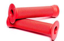 AWE® BMX Bicycle Handlebar Grips Red