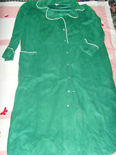 Size 42 mens green leprechaun creepy old man Halloween costume accessory snaps