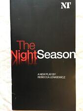 National theatre the night season programme 2004