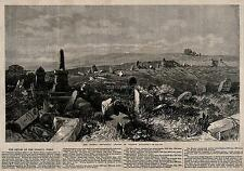 Crimean War British Soldiers Graveyard Ruins Army Military Empire 7x5 Inch Print