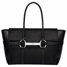 BNWT Fiorelli Barbican grandi Flapover Tote Bag Black Casual Mix