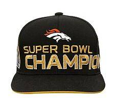 Denver Broncos NFL Super Bowl 50 Champions Youth Adjustable Strap Cap Hat c2bfea95b