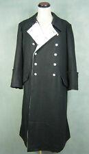 WWII World War 2 German Elite M32 Black Wool General Greatcoat