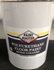 Garage/ Floor Paint 5lt CHEAPEST ON EBAY Many COLOURS AVAILABLE  RED