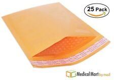 "25 #5 10.5""x16"" Kraft Bubble Mailer Padded Envelope Bag - Free Shipping"