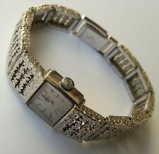 Vintage Certina White Gold Plated Ladies Handwinding Swiss made Wristwatch