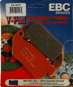 EBC V-Series Front Brake Pads for Harley Sportster (04-13) FA381V Street 61-0587