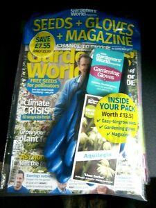 Gardener's World Magazine June 2020 (new) Seeds & Gloves