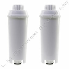 2 Superior Quality Water Filter For Delonghi ECAM23.450.S Espresso Coffee Maker