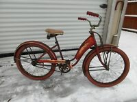 "Vintage 24"" Girl's Bicycle, True Test--1948 Monark Build for True Value Stores"