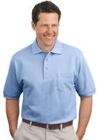 Port Authority Men's Double Needle Short Sleeve Cotton pique Polo Shirt. K420P