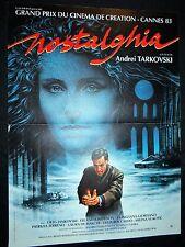 andrei tarkovski  NOSTALGHIA !  affiche cinema