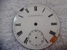 Briggs Norwich & Cromer 79-9Z Antique Pocket Watch Face E H