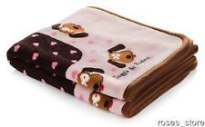 """NEW Smart Pet Love Snuggle Blanket for Dogs and Cats 48"""" x 30"""" - Pink Heart"""