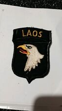 patch armee us 101th AIRBORNE DIVISION LAOS VIETNAM  original