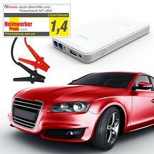 B-Ware NINETEC Power Bank Jump Starter 12V Auto Starthilfe NT-JS10 Weiß