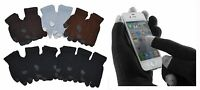 Wholesale 12 Pair Kids Children Magic Knit Touchscreen iPhone Gloves 6-18 Years