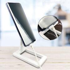 Universal Foldable Adjustable Desk Stand Holder For Mobile Phone Tablet >