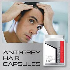 PRO-GROWTH MENS ANTI-GREY PILL HAIR REVITALISING SYSTEM NO GREY HAIR TABLETS