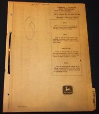 John Deere 95 Series Self Propelled Combine Parts Manual Book Catalog Pc 656