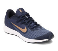 Nike Downshifter 9 (GS) Navy/Red Bronze Shoes Youth Size 7Y NWB AR4138-002