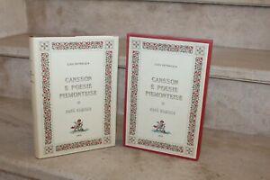L.Pietracqua - Cansson E Poesie Piemonteise (le livre précieux, 1968)