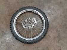 95 1995 YAMAHA YZ125 YZ 125 MOTORCYCLE BODY FRONT WHEEL TIRE 3.00-21 SPOKES