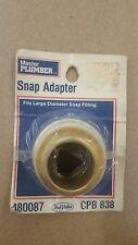 Master Plumber Snap Adapter - 480087 - Cpb838
