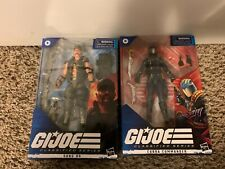 GI JOE CLASSIFIED COBRA COMMANDER AND GUNG HO, SEALED IN BOX.