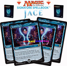 MTG 4 X Mystical Tutor - SIGNATURE SPELLBOOK JACE BELEREN - ENGLISH Limited Ed.