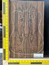 DISCOUNT SET 5A Ziricote Bookmatched Top Guitar Bass Making Luthier Supplies